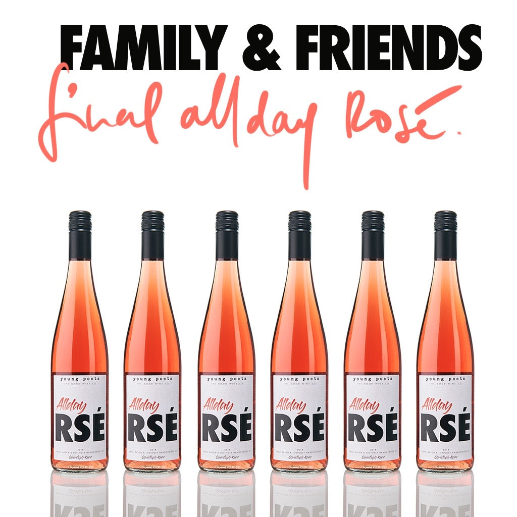 Rosé The Day Away | 6er Pack