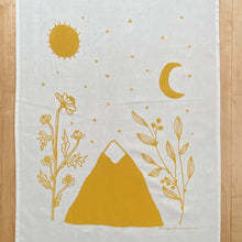 Load image into Gallery viewer, Golden Mountain Tea Towel