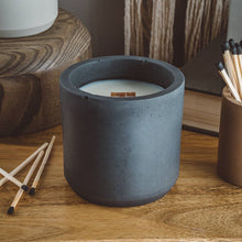 Load image into Gallery viewer, Driftwood - Large cylinder Candle - Slate