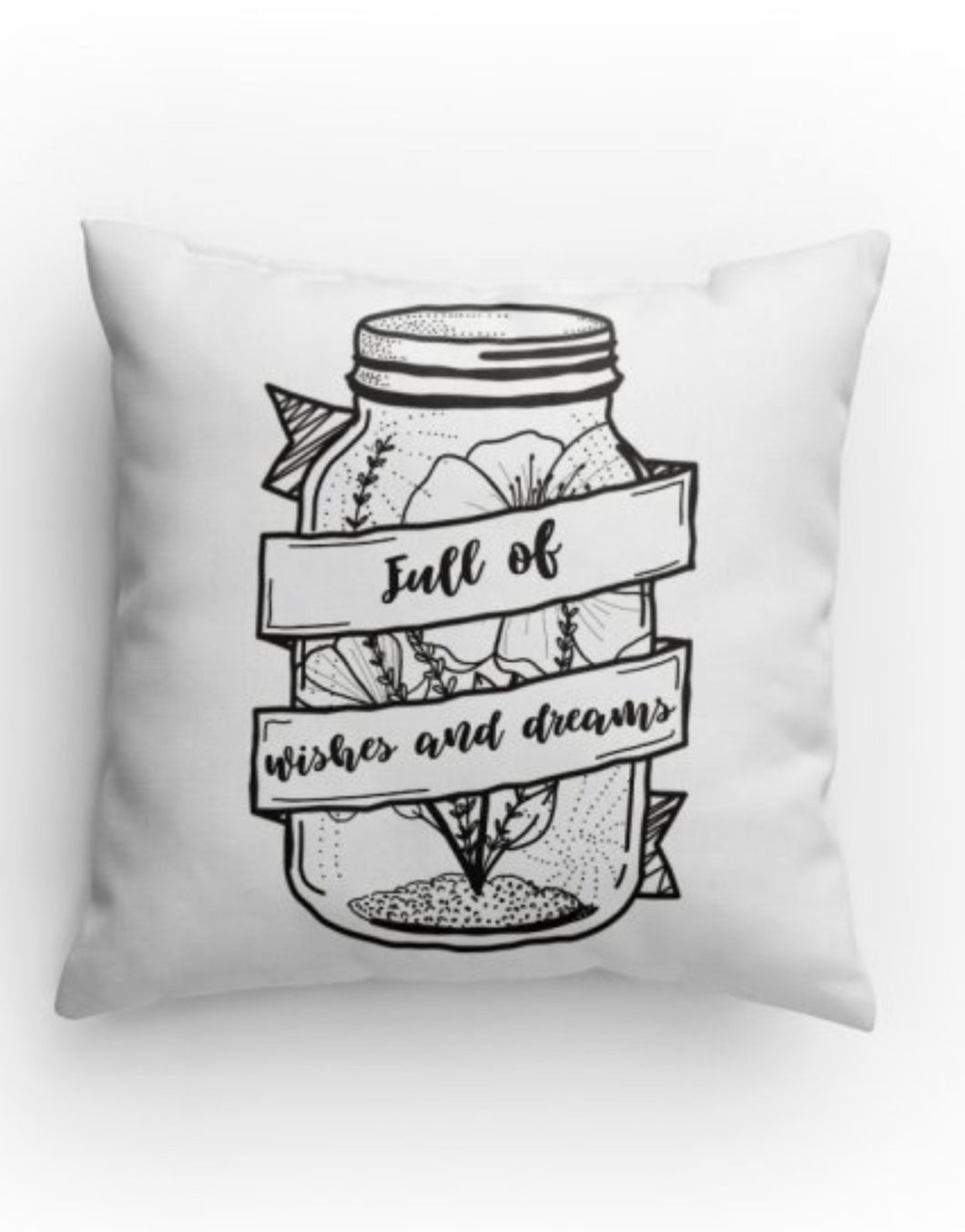 Full of wishes pillow