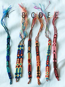 Friendship bracelets- Mexican Handwoven bracelets