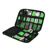 High Grade Nylon Waterproof Electronics Accessories Organiser Bag - the-travel-tools