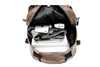 PU Leather Travel Backpack 14inch Notebook Laptop Backpack