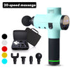 Massage Gun Muscle Massager Ultra-Quiet 20 Speeds Level Deep Tissue Massager