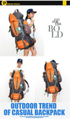85L Outdoor Backpack Unisex Multi-purpose - the-travel-tools