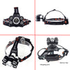 Litwod Z20 15000 Lumens Rechargeable 5 Led T6+Q5 Headlamp - the-travel-tools