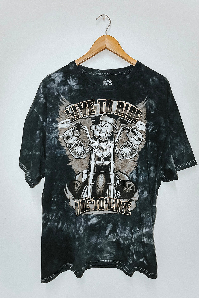 Vintage Live to Ride Tee
