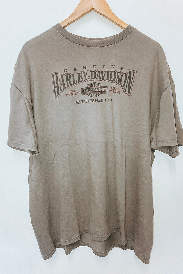 Harley Davidson Tee / Cayman Islands