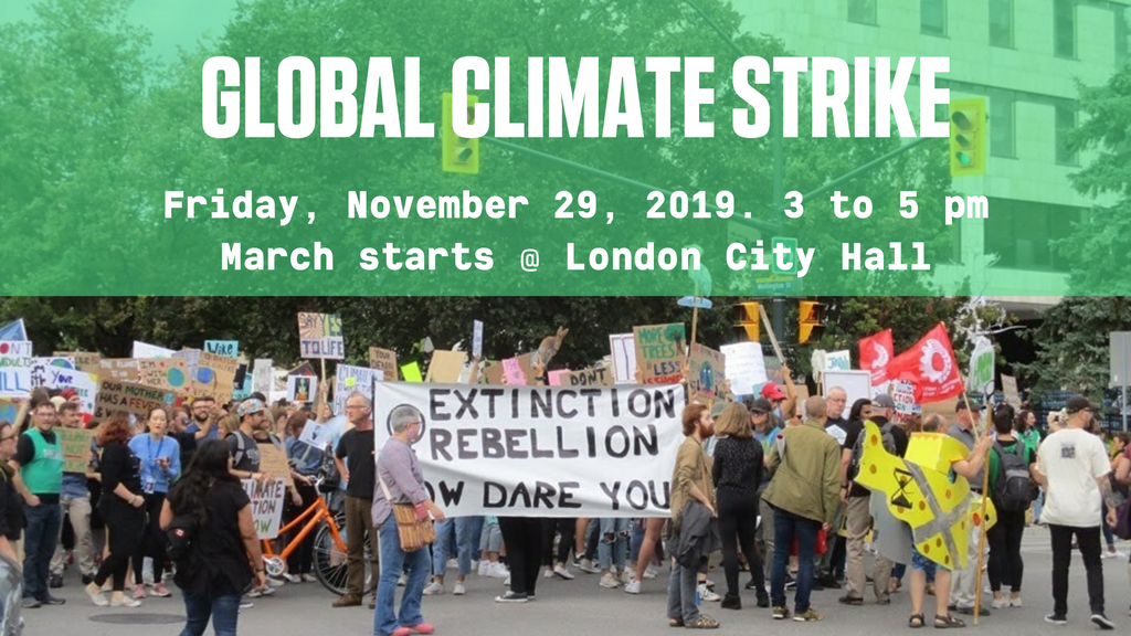 Strike now to demand climate action