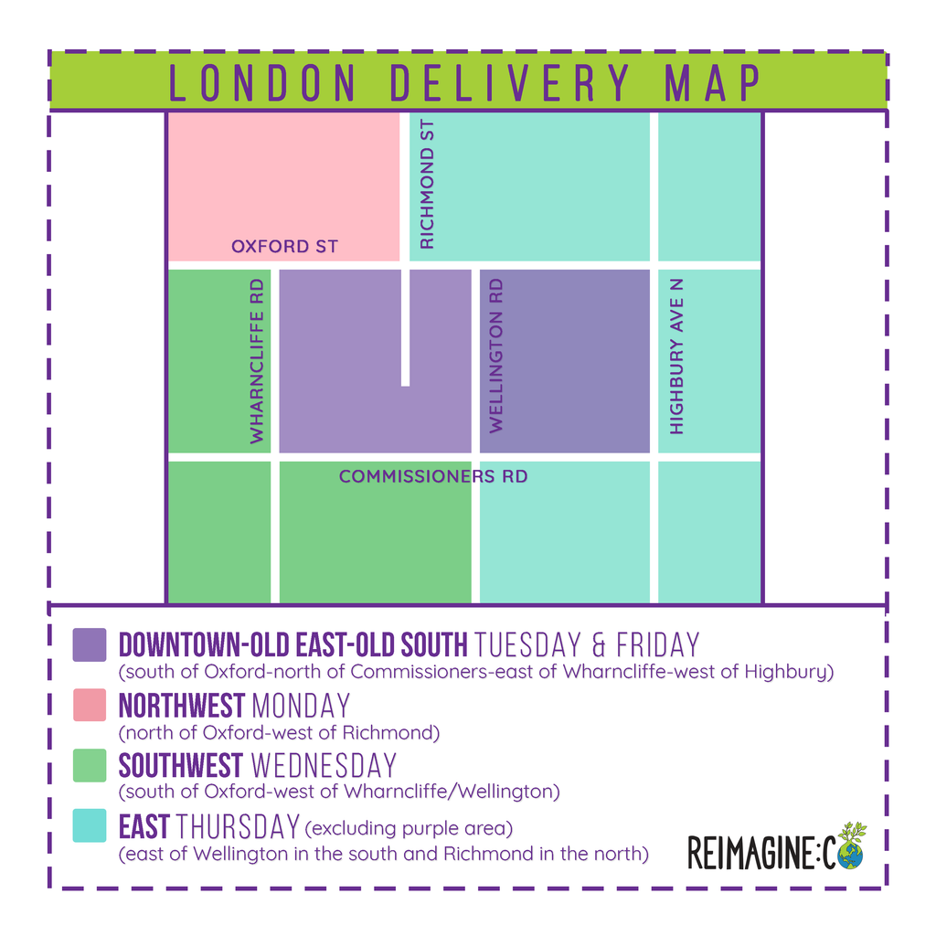 New Delivery Routes!