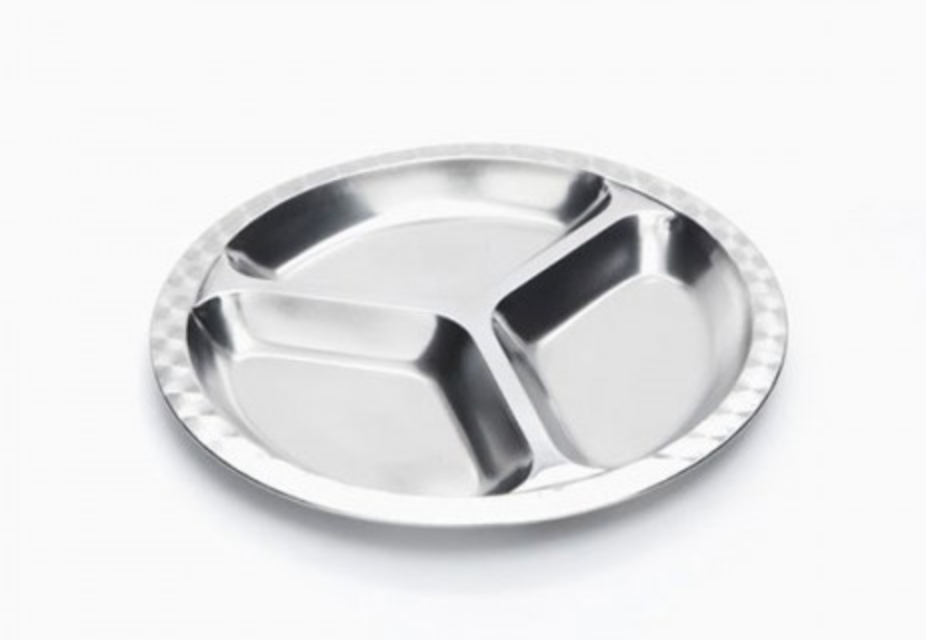 ONYX - SS Divided Plate