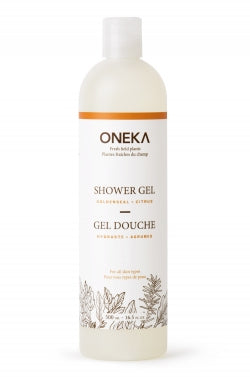 Oneka Organic Body Wash (package free)
