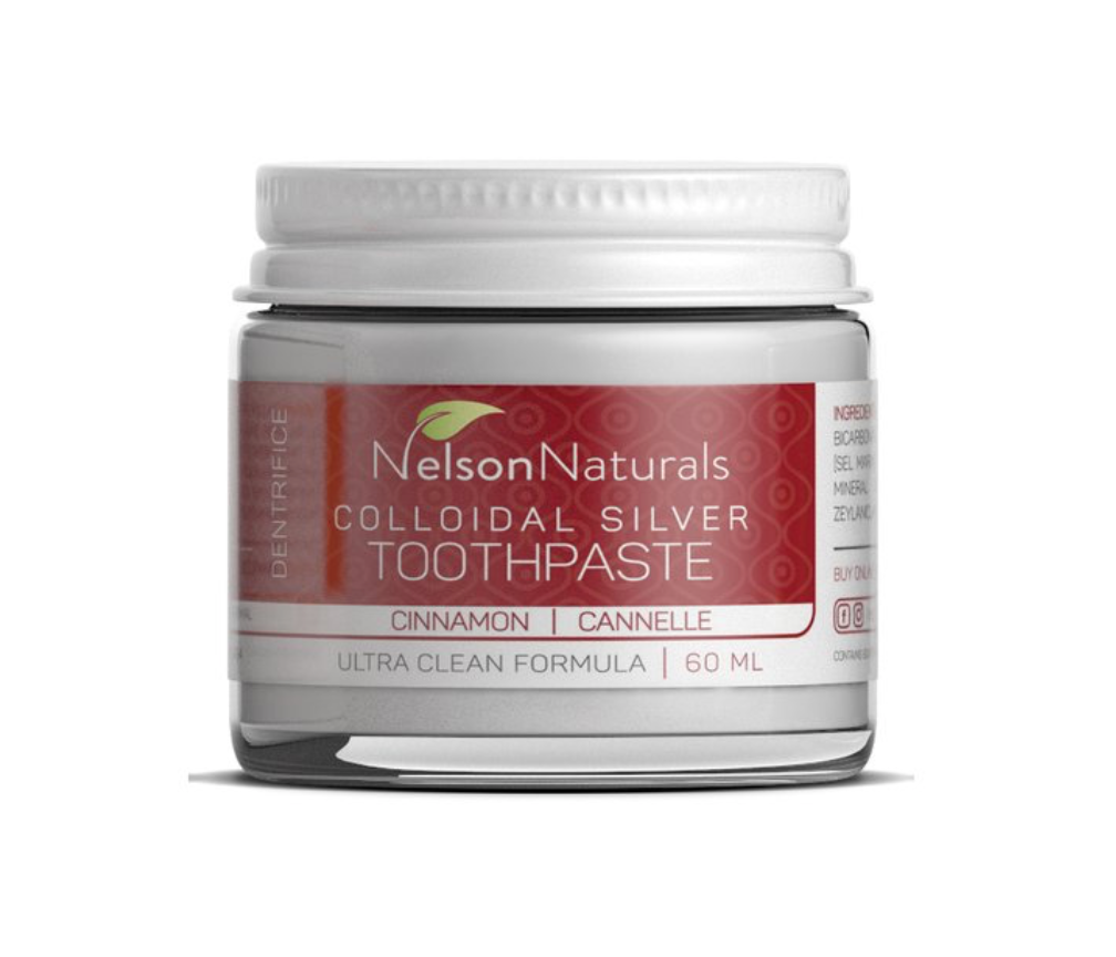 Nelson Naturals Toothpaste - Jars