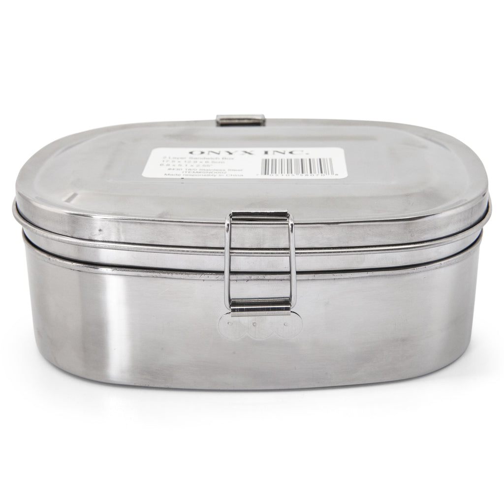 Two-layer Stainless Steel Sandwich Box
