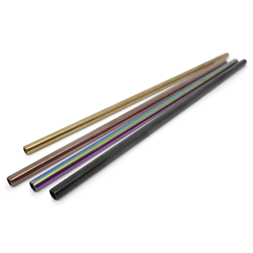 Stainless Steel Coloured Straw