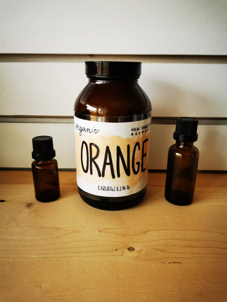 Organic Orange Essential Oil w/bottle