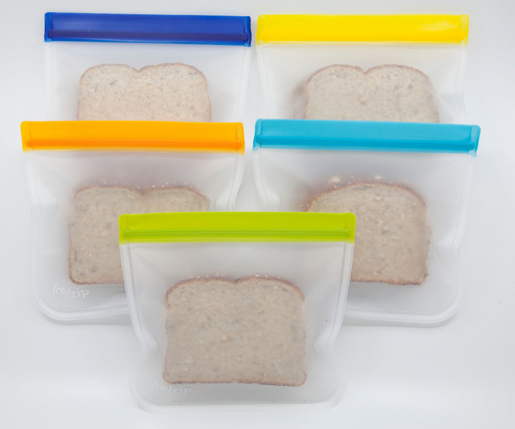 5-pack Sandwich Sized Rezips