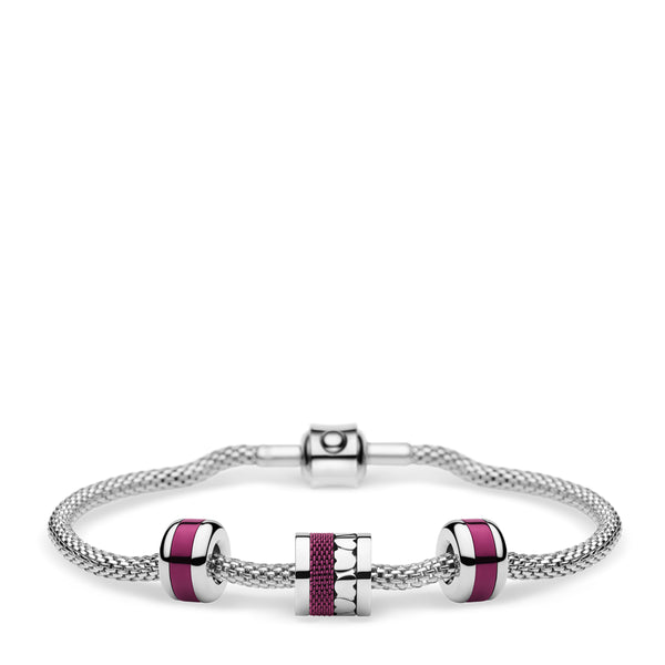 BERING Armband Arctic Symphony silber ValentinesDay2021-Set3SP-X0