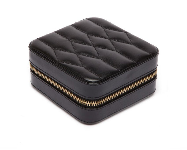 Caroline Zip Travel Case Black