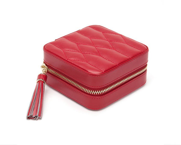 Caroline Zip Travel Case Red