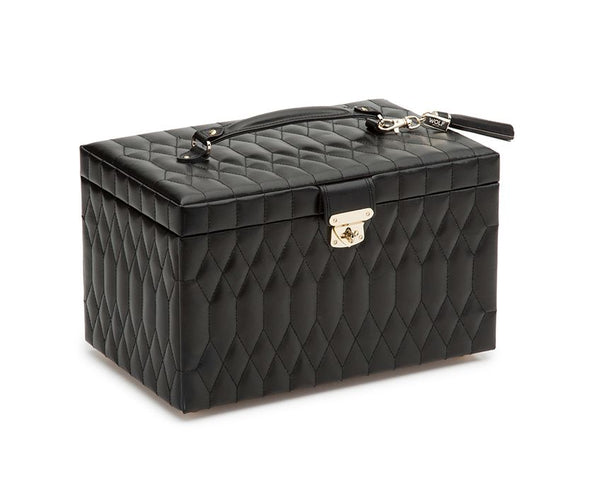 Caroline Large Schmuck Case Black