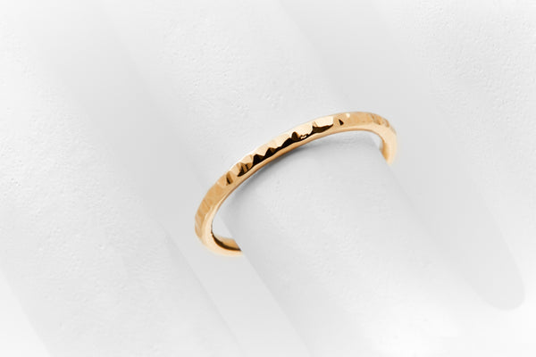 DELICATE Ring Bronx Gold