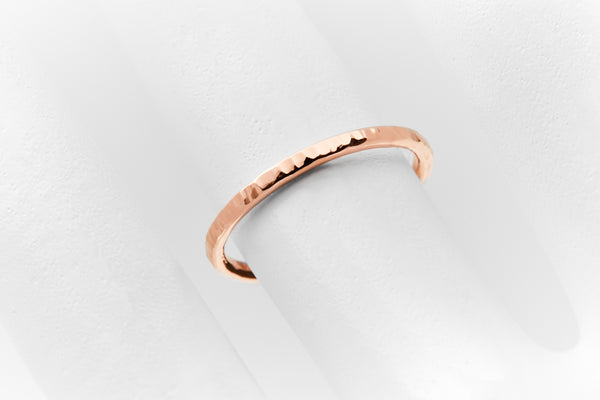 DELICATE Ring Bronx Rosegold