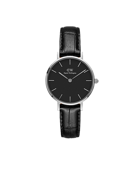 DW Classic Petite Reading Silber 28mm
