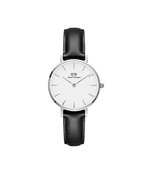 DW Classic Petite Sheffield Silber 28mm