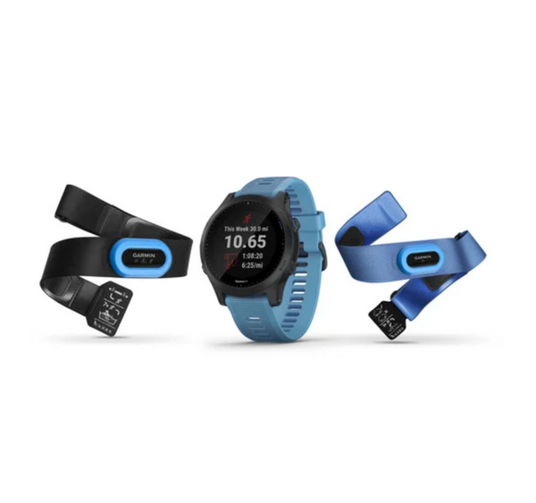 Garmin Forerunner® 945 Blau/Schiefer, Bundle - 010-02063-11