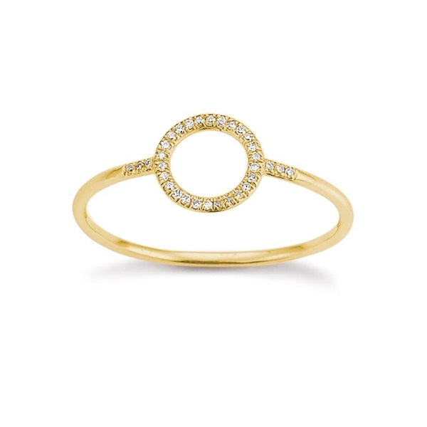 Gold Ring Brillant