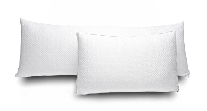 Pranarest Side-Sleeper System. Original Pillow & Full Body Hug Pillow. Body Pillow and Traditional Bed Pillow