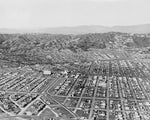 Aerial view of Beverly Hills 1931 Print
