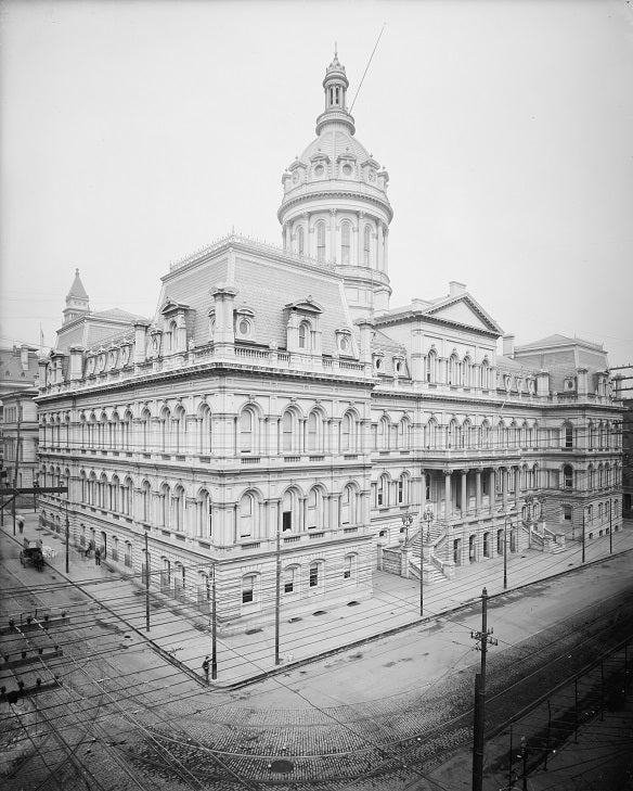 Baltimore City Hall 1900 Print