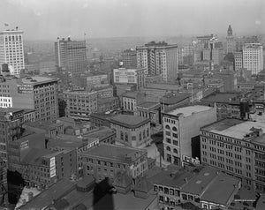 Baltimore from Emerson Tower 1912 Print