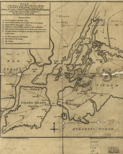 Battle of Long Island 1776 British Attack Plan