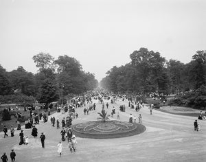 Central Avenue, Belle Isle Park 1880s Print