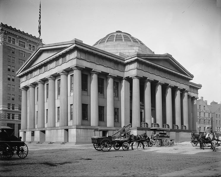 Boston Custom House 1906 Print