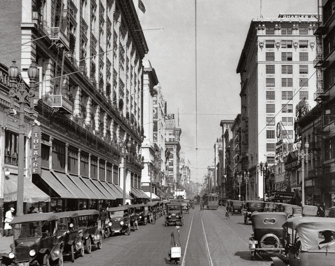 Broadway and 8th 1920 Print