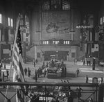Chicago's Union Station Concourse 1943 Print