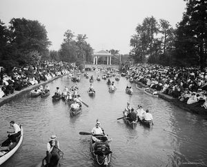 Concert at Belle Isle Park 1907 Print