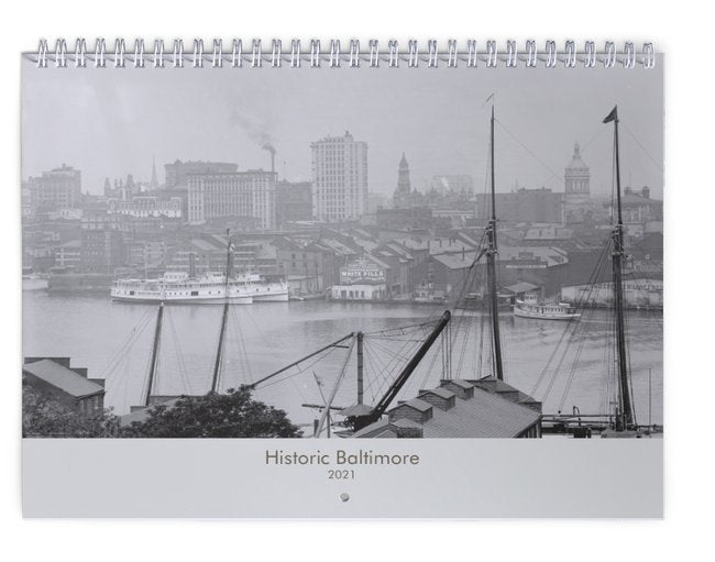Historic Baltimore 2021 Calendar
