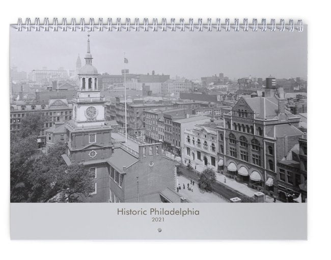 Historic Philadelphia 2021 Calendar