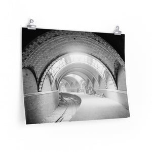City Hall Subway Station 1904 - Poster Size