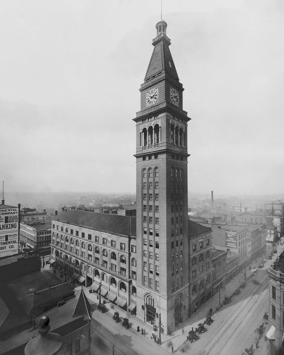 Daniels and Fisher Tower 1911 Print