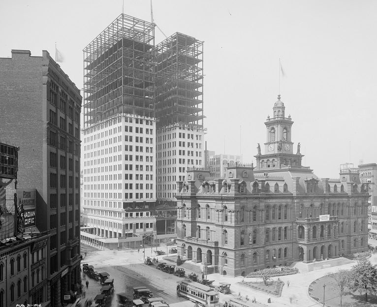 Dime Building under Construction 1912