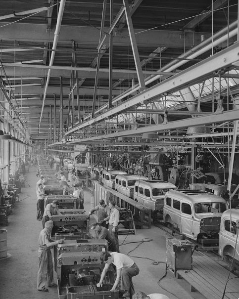 Dodge Production Line 1942 Print