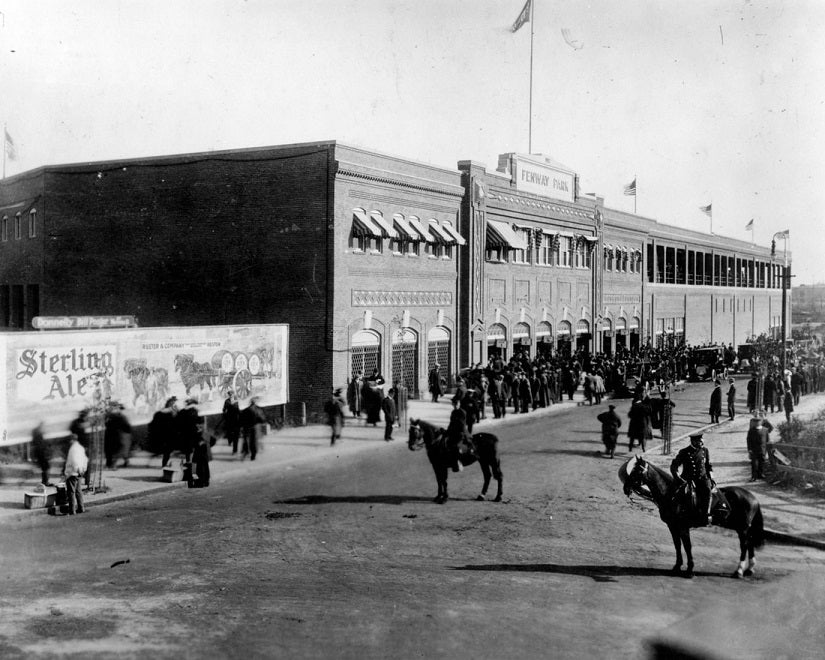 Opening Day at Fenway Park 1912 Print