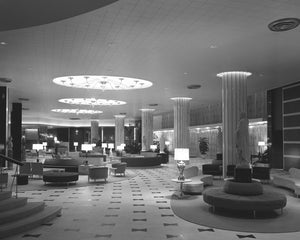 Fontainebleau Lobby 1955 Print