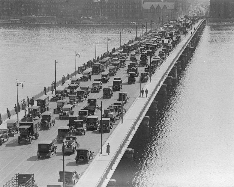 Harvard Bridge 1923 Print